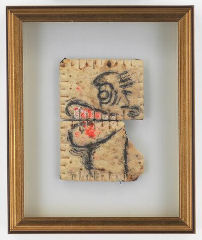 Pope.L, 'Black Head (Big Lip)', 1998