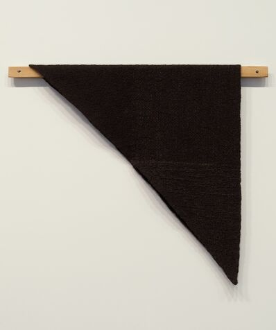 Helen Mirra, 'Waulked Triangle, CT01/VT01', 2014