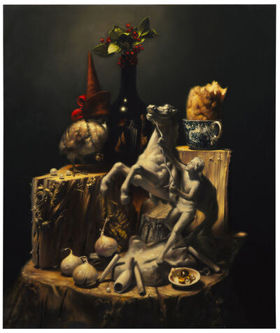 Stephen Appleby-Barr, 'Still-life with Poussin', 2020