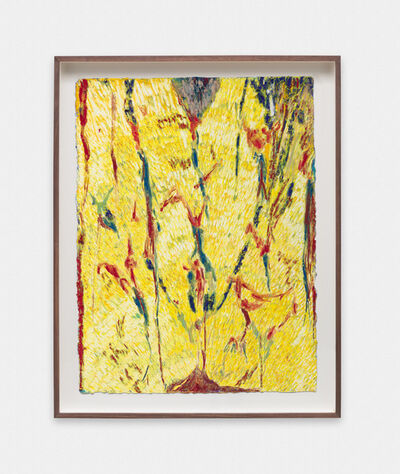 Mimi Lauter, 'Pour (yellow)', 2015