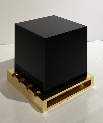 Edwin Monsalve, 'Untitled (cube and stowage)', 2020