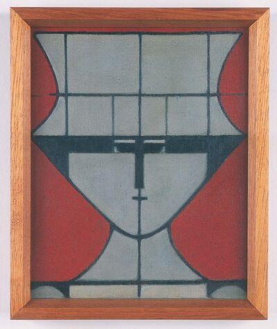 Milton Dacosta, 'Figura com chapéu', 1957