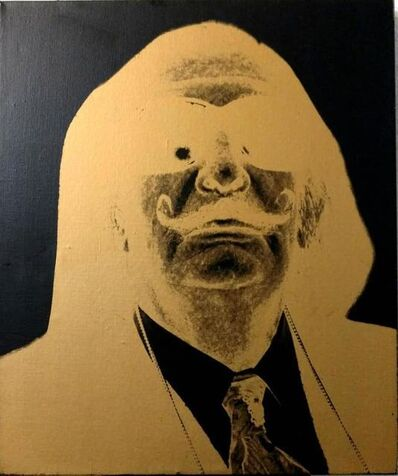 Christopher Makos, 'Chris Makos Original Silkscreen Painting of Salvador Dali', 20th Century
