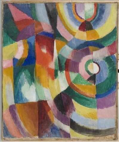 Sonia Delaunay, 'Electric Prisms', 1913