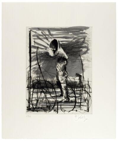 William Kentridge, 'Nose on a Horse', 2010