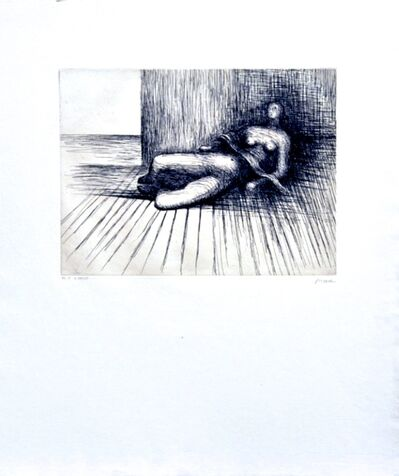 Henry Moore, 'Reclining Figure', 1978