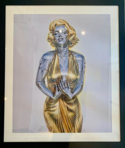 """Hajime Sorayama, 'Marilyn Monroe """"Sexy Robot""""', 2009"""