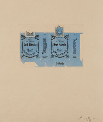 Robert Motherwell, 'Roth-Handle II (Blue)', 1975