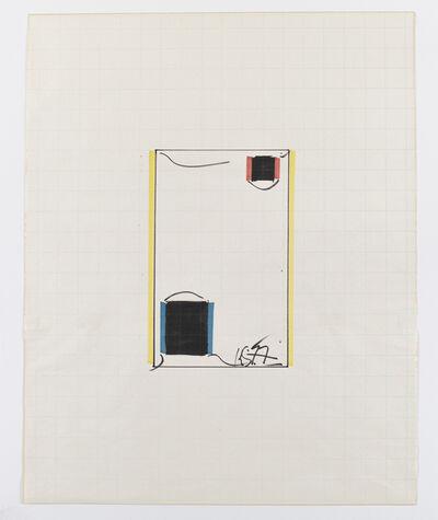 Keith Sonnier, 'Untitled Ba-O-Ba Krefeld Drawing', 1977