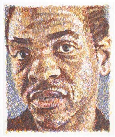 Chuck Close, 'Lyle ', 2000