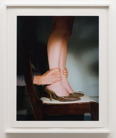 Jo Ann Callis, 'Hands on Ankles', ca. 1976
