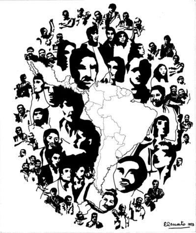 Elda Cerrato, 'Serie: Geo-historiografía. La hora de los Pueblos I', 1973