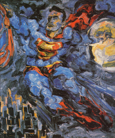Philip Pearlstein, 'Superman', 1952