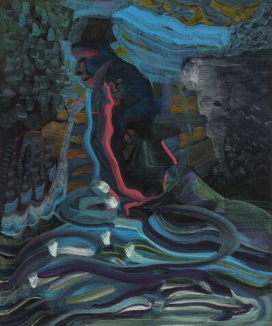 Guo Hongwei 郭鸿蔚, 'Walking Home 江堤夜归人', 2016
