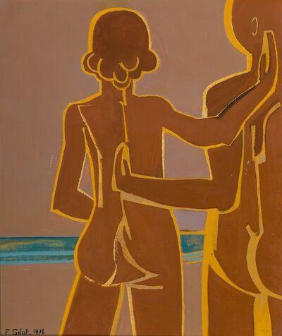 Françoise Gilot, 'Couple by the Sea', 1976
