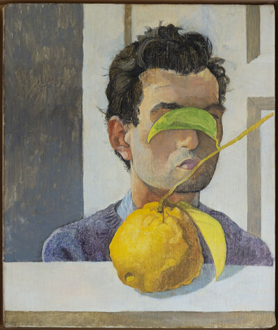 Kent O'Connor, 'Portrait with Lemon', 2017