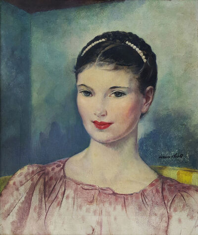 Leon Kroll, 'Portrait of Theresa Rogers'