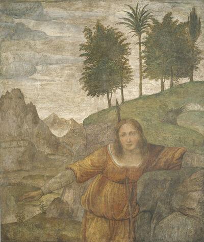 Bernardino Luini, 'Procris Pierced by Cephalus' Javelin', ca. 1520/1522
