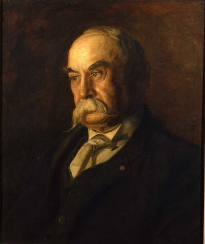 Thomas Eakins, 'Charles Haseltine; The Connoisseur', ca. 1901