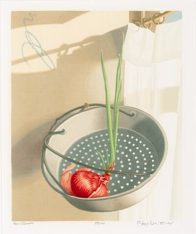 Joe Price, 'Egg Series VI: Knife, New Growth, and For One', 1985-88