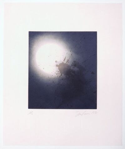 Joe Goode, 'Untitled (Moonrise) print #1', 1998
