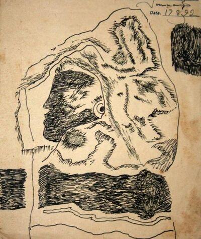A P Santhanaraj, 'Untitled (Profile)', 1992