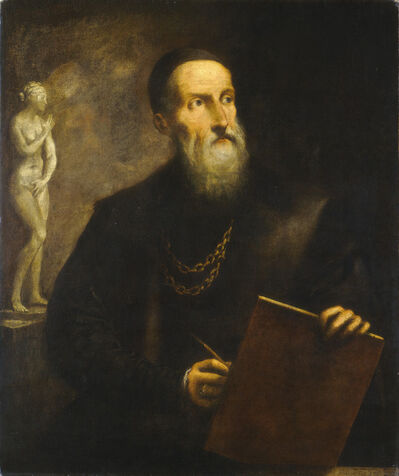 Pietro della Vecchia, 'Imaginary Self-Portrait of Titian', probably 1650s