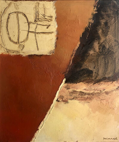 Josep Guinovart, 'Ratlla i paisatge', ca. 1995