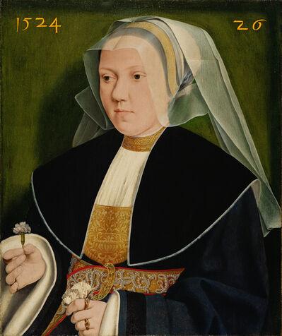 Barthel Bruyn the Elder, 'Portrait of Gertraude von Leutz, wife of Gerhard von Westerburg', 1524