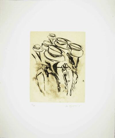 Willem de Kooning, 'Seventeen Lithographs for Frank O'Hara: One plate', 1988