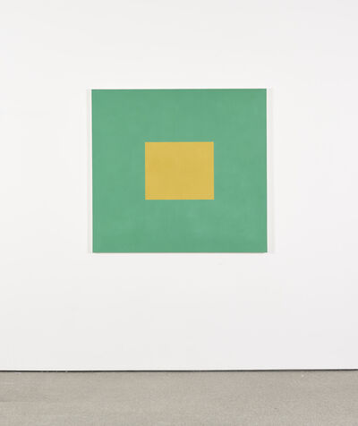 Peter Joseph, 'Golden Yellow with Bright Green', 1989