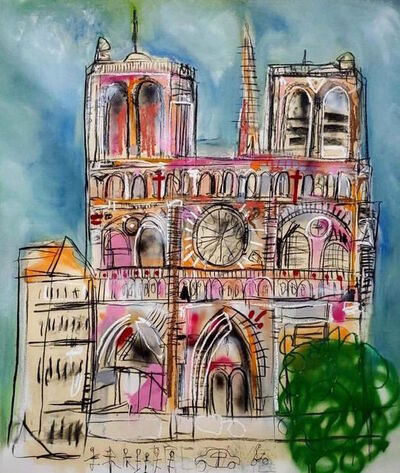 Louis Carreon, 'Notre Dame', 2019