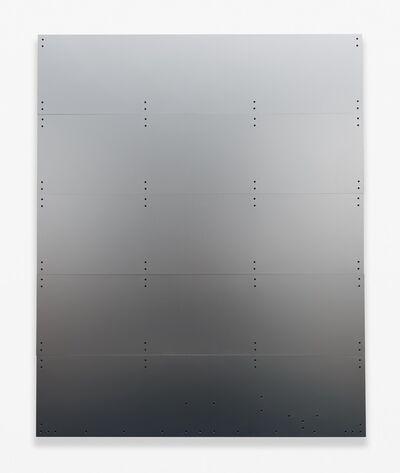Chris Bradley, 'Blank (Truck Door, Silver)', 2014