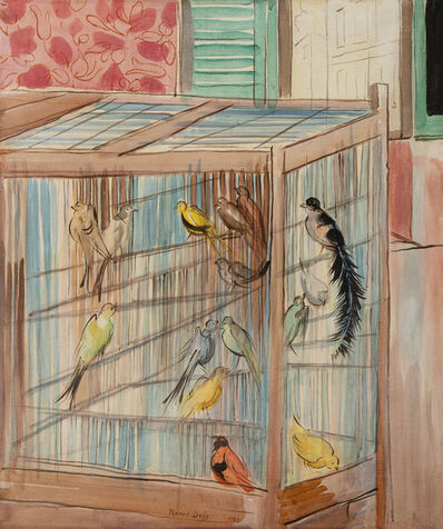 Raoul Dufy, 'La cage', 1939