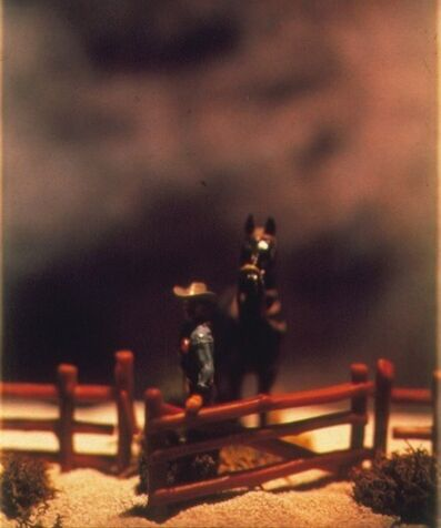 David Levinthal, 'The Wild West, 89-PC-C-7', 1989