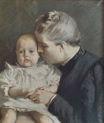 Lydia Field Emmet, 'The Grandchild', 1895