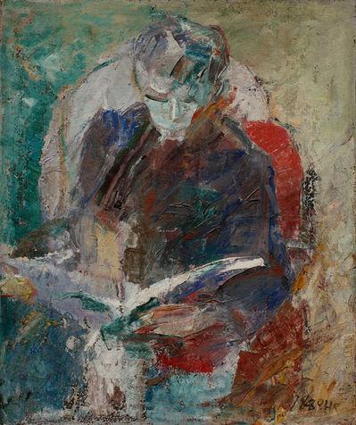Huang Rui, 'Man Reading', 1980
