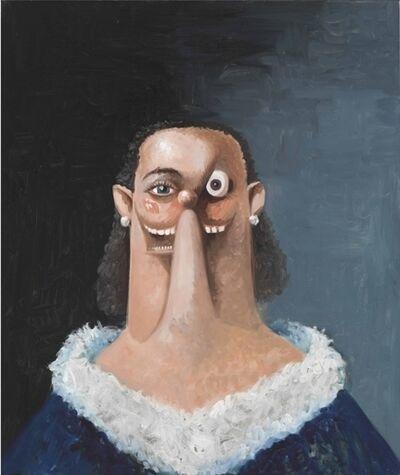 George Condo, 'Portrait of a Noble Woman'