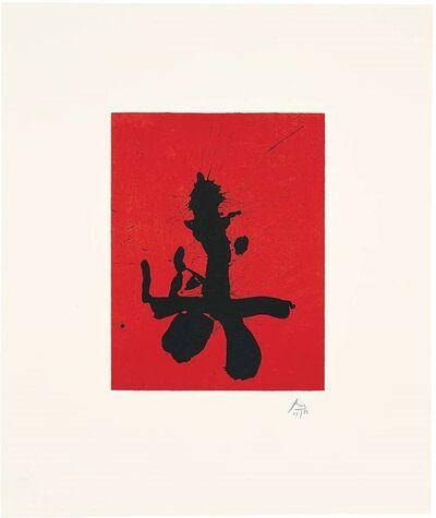 Robert Motherwell, 'Red Samurai', 1988
