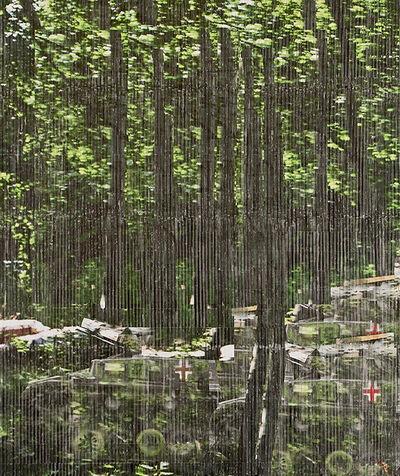 Azade Köker, 'Tanks In The Forest', 2011