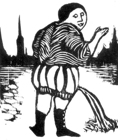 Ana Maria Pacheco, 'Gargantua and Pantagruel I', 1994