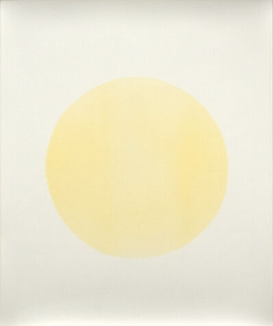 Adam Fuss, 'Yellow Circle', c 1987
