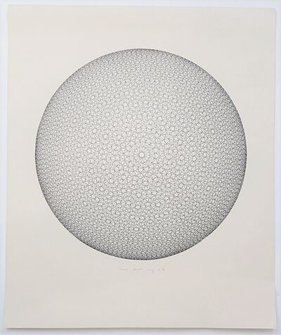Ludwig Wilding, 'Geometric Circle Composition (Op Art)', 1967