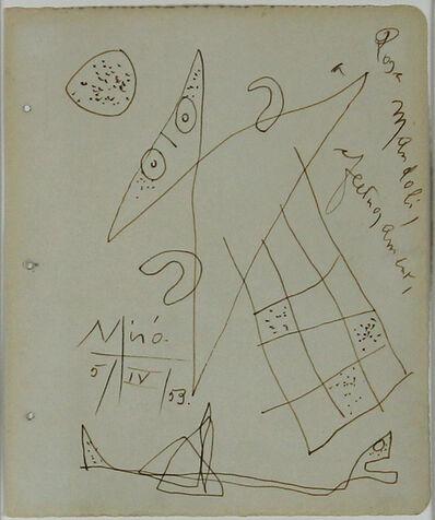 Joan Miró, 'Untilted', 1953