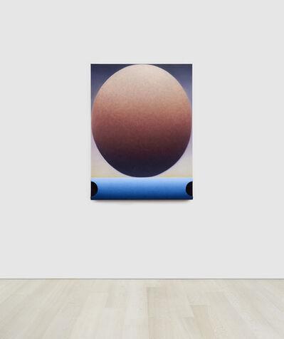 Loie Hollowell, 'Blue Horizon, Orange Orb', 2020
