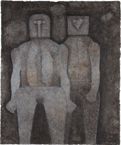 Rufino Tamayo, 'Dos Hermanos (Two Brothers)', 1987