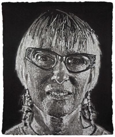 Chuck Close, 'Janet/Pulp', 2007