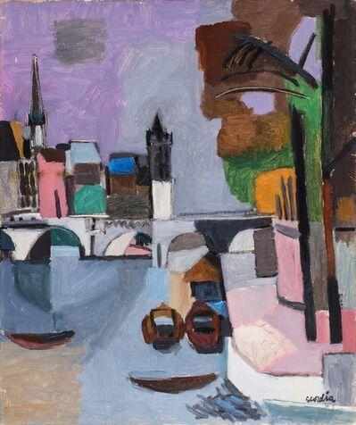 Antonio Scordia, 'Pont neuf, Paris', 1950