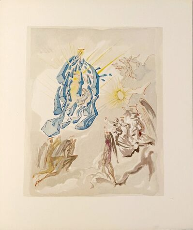 Salvador Dalí, 'La Divine Comédie - Paradis 26 - Dante recouvre la vue', 1963