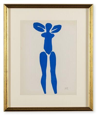 Henri Matisse, 'Four 'Nu Bleu' plates from Verve Vol IX Nos 35/36', 1954